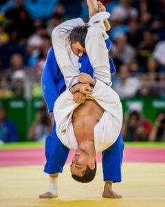 Judo clé de bras